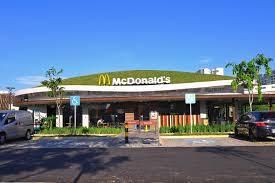 mcdonald u0027s first ever green restaurant in singapore elmich global