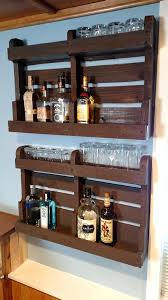 Wood Bar Cabinet Diy Pallet Wood Liquor Cabinet Home Construction Improvement