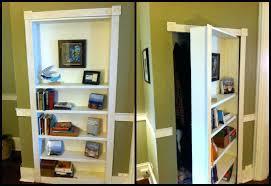 bookcase hidden door bookcase diy secret passageway bookshelf