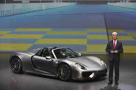 100 production porsche 918 spyder plug in hybrid supercar at