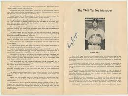 Basement Finishers Lot Detail 1949 Independence Yankees Team Signed Souvenir Year