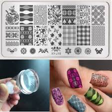 online buy wholesale nail stamping plates clear jelly stamper from