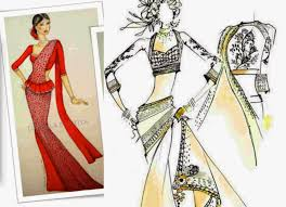 indian drawings of dresses google search indian dress drawn