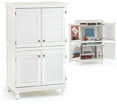 white computer armoire desk shop for computer armoire with distressed white finish get free