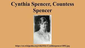 karen spencer countess spencer cynthia spencer countess spencer youtube