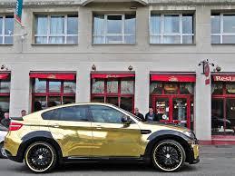 gold bmw x6m custom hamann supreme edition 6 dream cars wish
