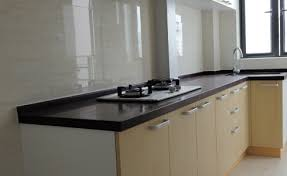 Melamine Finished Kitchen Cabinets  Foshan Yubang Furniture Co Ltd - Kitchen cabinets melamine