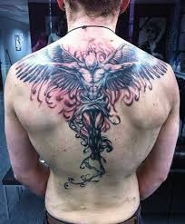 55 most amazing angel tattoos and designs