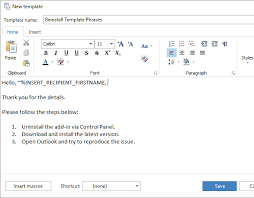 create a template in outlook 2016 2013 2007 with attachments and