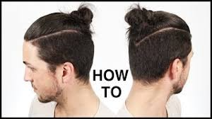 top knot mens hairstyles ecouter et télécharger how i cut style my hair top knot man