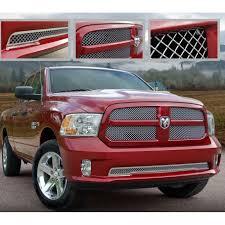 Dodge Ram Truck Grills - e u0026g classics 2013 2015 dodge ram 1500 grille 2 pc heavy mesh