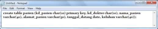 cara membuat database dengan mysql front membuat database mengunakan mysql front pemrograman web