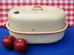 savory roaster enamel roasting pan foter