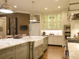 Cheap Kitchen Decorating Ideas Kitchen Diy Kitchen Remodel Brown Cabinets And Cream Wall For
