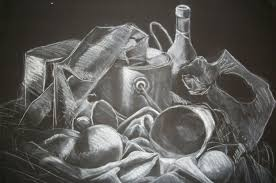 chalk drawing on black paper drawing on black paper youtube