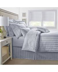 find the best deals on 500 thread count damask stripe reversible