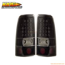 2006 silverado tail light assembly for 2003 2006 chevy silverado led tail lights black ls 04 05 usa