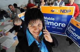 Seeking Vancouver Mla Mable Elmore Seeking Ndp Nomination For Federal