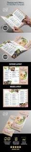 menu tri fold flyer template for vietnamese restaurant menu