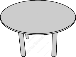 Dining Room Table Clipart Black And White Dining Table Vector Top View Farishweb Com