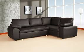 Large Black Leather Corner Sofa Leather Corner Unit Sofa Bed Savae Org