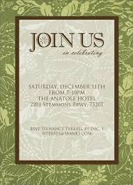 27 images of formal invitation cards template tonibest
