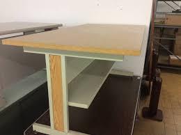 Metal Computer Desks 30x60x27 Woodtop Metal Frame Computer Table Nd Surplus