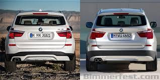 bmw x3 2012 vs 2013 in photos 2014 x3 vs 2015 x3 cycle impulse lci