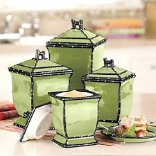 kitchen canisters green green kitchen canisters apple canister set inspiration for