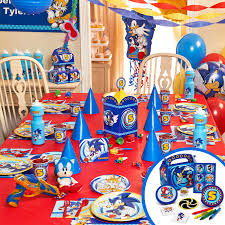 sonic the hedgehog party supplies sonic the hedgehog ultimate party pack dakota s birthday