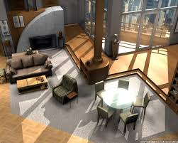 urban loft plans floor plans of homes from famous tv shows