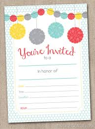 party invitations fill in printable party invitations instant graduation