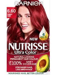 hair color over 60 6 60 fiery red hair colour nutrisse garnier