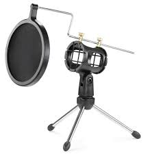 On Stage Ds7200b Adjustable Desk Microphone Stand Black by Amazon Com Neewer Foldable Desktop Microphone Tripod Stand With