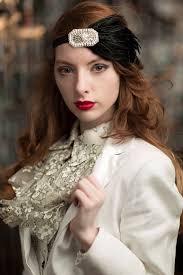 1920s hair accessories silver new years gatsby headband 1920s hair accessories