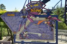 First Six Flags Six Flags Great Adventure Bizarro Opening Day Theme Park Review