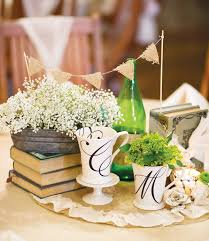 vintage centerpieces vintage wedding centerpiece with bookswedwebtalks wedwebtalks