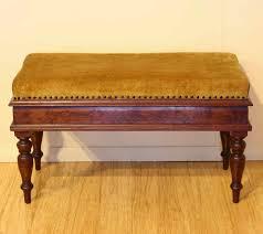 early 20th century duet piano stool david jones the merchant