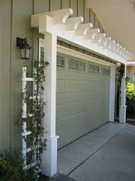 Design Ideas For Garage Door Makeover Garage Door Trellis Design K And B Door