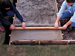 How To Cover Old Concrete by How To Lay A Concrete Pad How Tos Diy