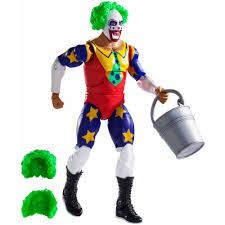 halloween wwe costumes wwe elite doink the clown walmart com