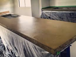 polished concrete countertops and surfaces the polished concrete