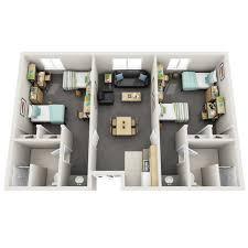 floor plans student housing university of colorado denver