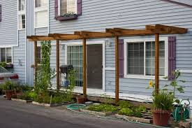 pergola attached to house kit beautiful pergola attached to