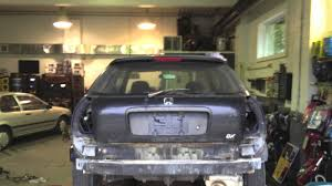 custom honda hatchback 1998 honda civic hatchback resto project youtube