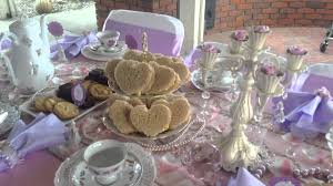 Tea Party Table by Elegant Tea Table Setup Youtube