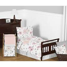 Pink And Grey Comforter Set Sweet Jojo Designs Blush Pink Grey And White Shabby Chic