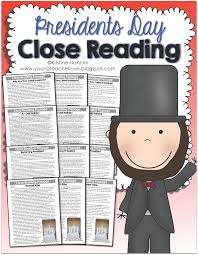 Reading Comprehension 3rd Grade Worksheets Free Presidents Day Close Reading Passages Text Dependent Questions