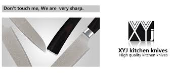 best quality kitchen knives xyj brand damascus knives 5 inch santoku knife vg10 japanese
