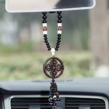 traditional car hanging ornaments buddhist tibetan king